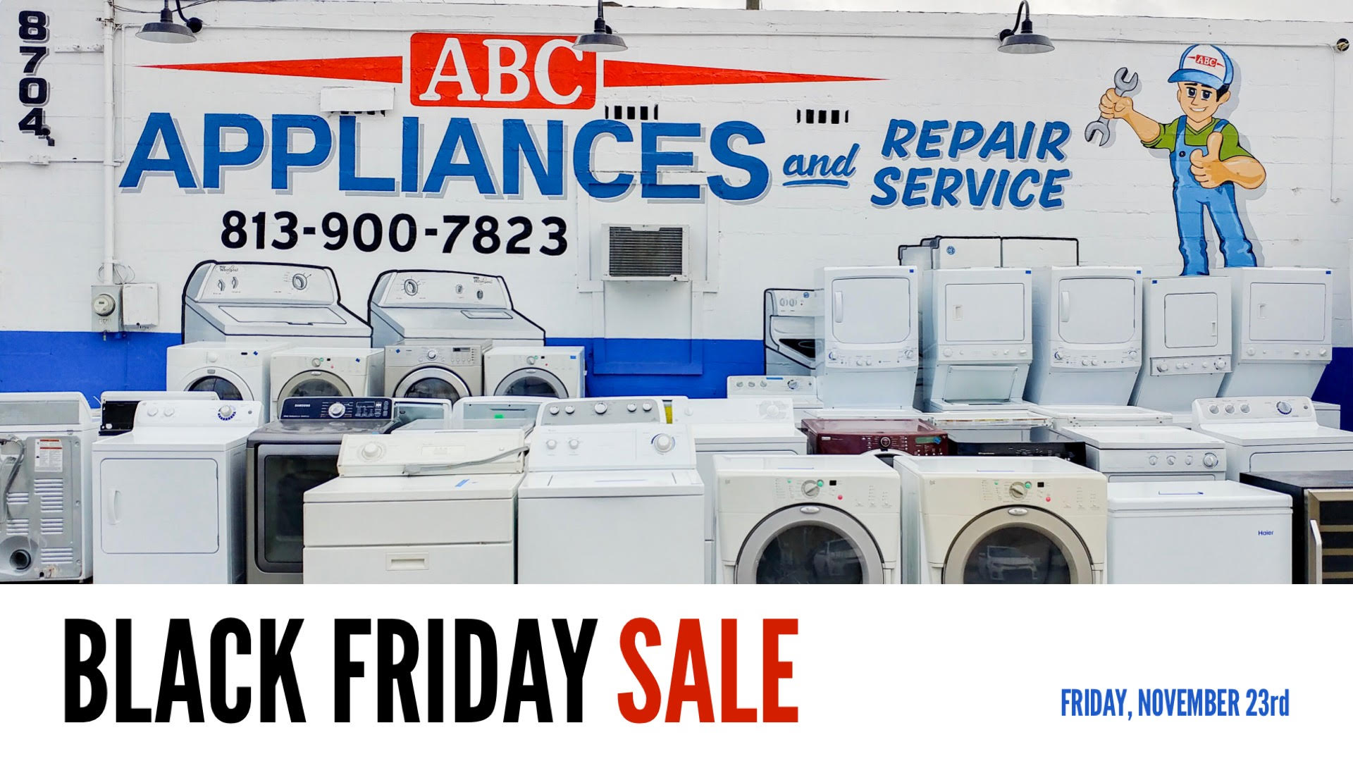 Black Friday Sales At Abc Used Appliances In Tampa Fl