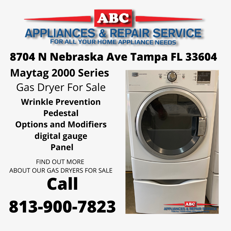 Maytag 2000 Series Commercial Gas Dryer For Sale
